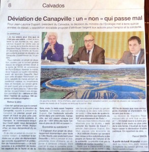 Article Ouest Fr Canapville 17_18_01_15