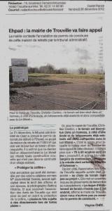 O-F Emplacement de l'EHPAD aux Frémonts Appel de la Mairie